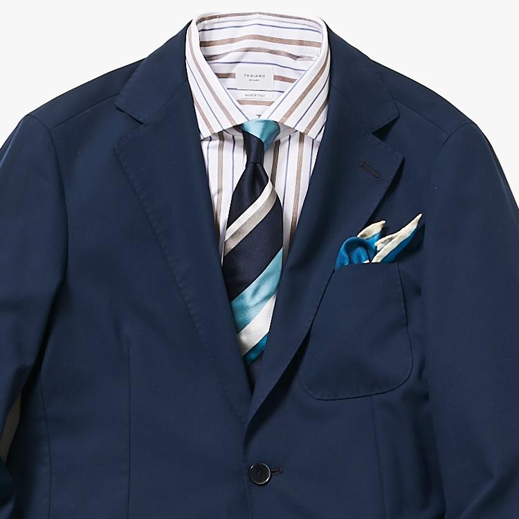 シャツとネクタイの柄合わせのコツをご存知?【1分で出来る胸元お洒落】