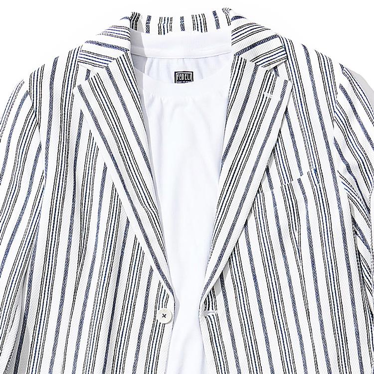 涼しく見える「夏ジャケット」の着方とは?【1分で出来る胸元お洒落】