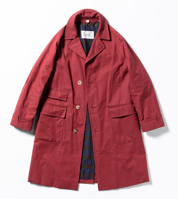 真っ赤なコート