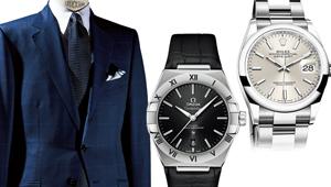 スーツと時計、合計100万円でどちらも買うならこのコンビがベスト!