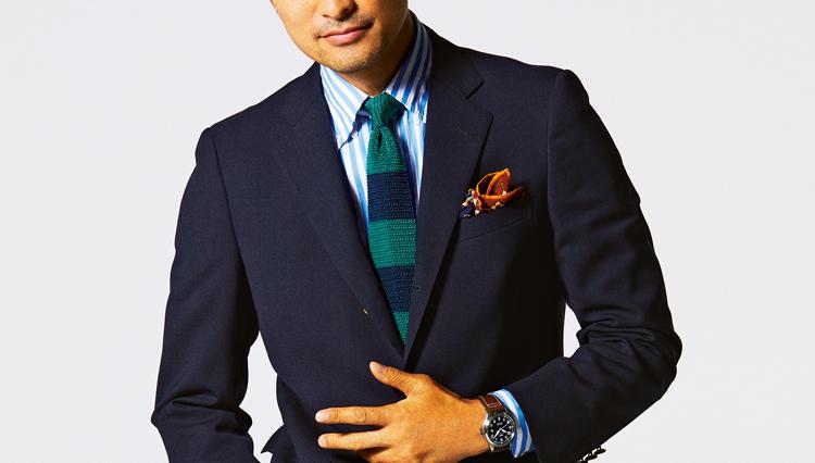 ドレスミリタリー時計なら紺ブレスタイルが新鮮になる!