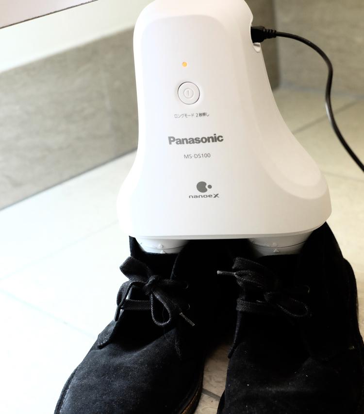 <p>チャッカブーツにも立ててみたところ、こちらもしっかり安定。様々なタイプの靴に使えそうだ。</p>
