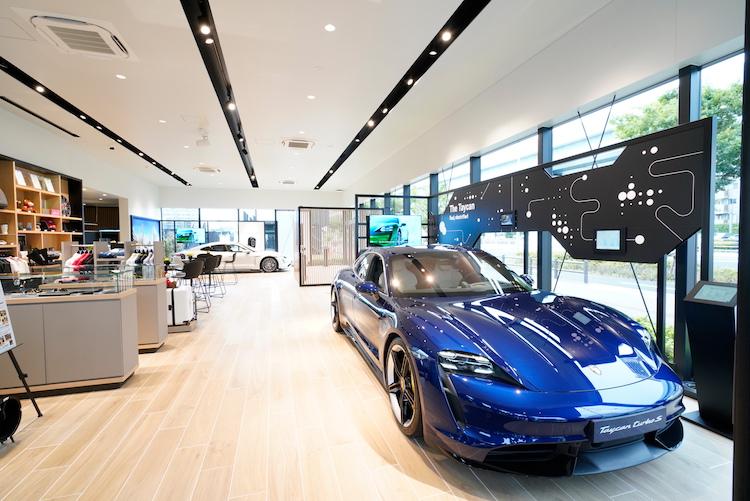 <p>全世界で展開される「Porsche NOW」は、これまでポルシェに接点のなかった人たちにブランドを知ってもらうためのポップアップストア。</p>
