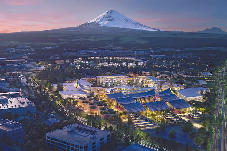 トヨタが作る街 新技術の実証都市
