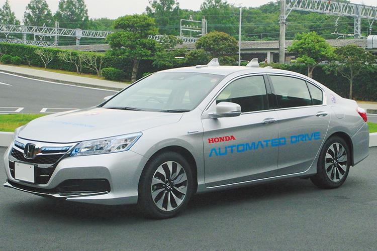 <p><b>レベル3がついに実現、自動運転の未来</b><br /> 写真はホンダが自動運転技術の開発で使用していたテストカー。ここで培われた技術は今年の夏頃発売の新型レジェンドに採用されると見られていて、実現されれば日本で初めて自動運転レベル3を実用化、販売したこととなる。詳細、内容が気になるところだ。</p>