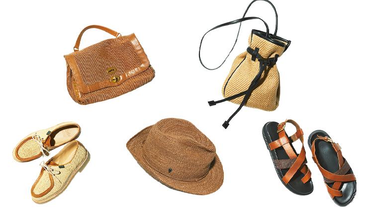 見るからに涼しそう!夏を盛り上げる帽子とバッグ&シューズ5選