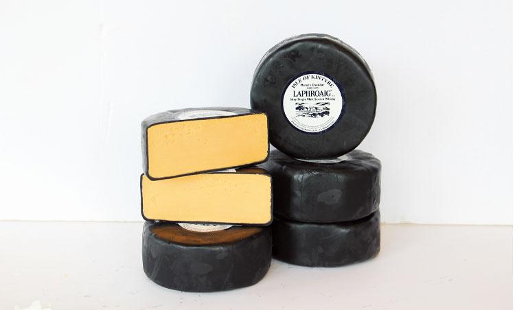 ラフロイグウイスキーチェダーチーズ
