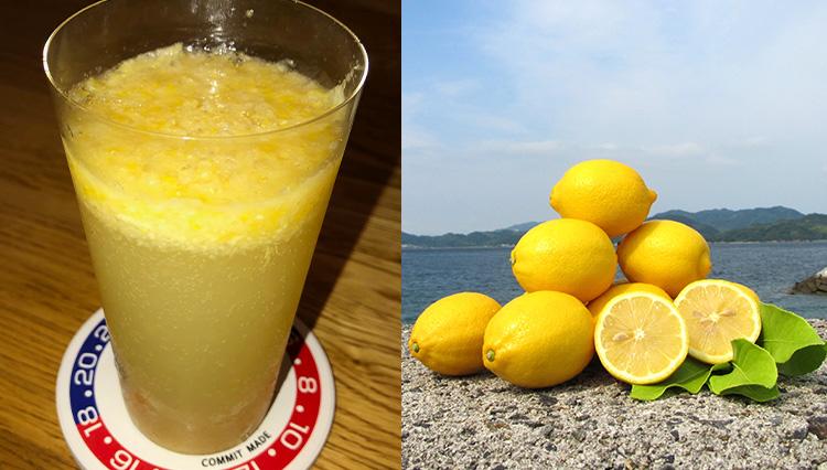 レモンハイが極上の味に!「岩城島産の生レモン」