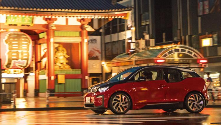 改めて東京の魅力を知ろう。BMW i3で東京ツーリング