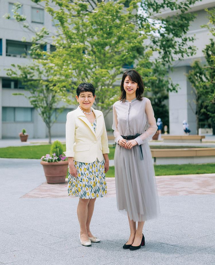 加藤 綾子さん、坂東眞理子さん