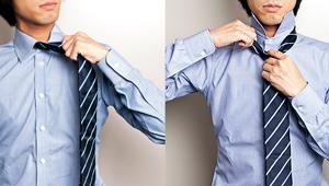 正しい「ネクタイの外し方」知ってますか?