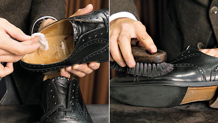 靴磨きのフルコースを自分できますか?