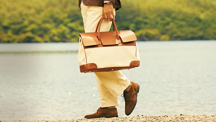 大人の週末近場旅行にオススメな靴&カバンは?