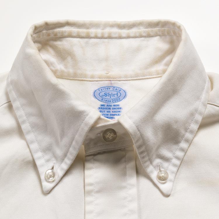 汚れたシャツの襟