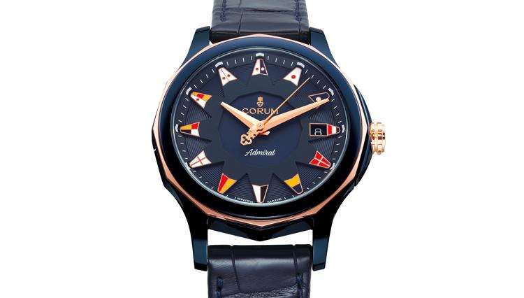 アドミラルコレクションの新作時計はエレガントな印象がポイント【ひと言ニュース】