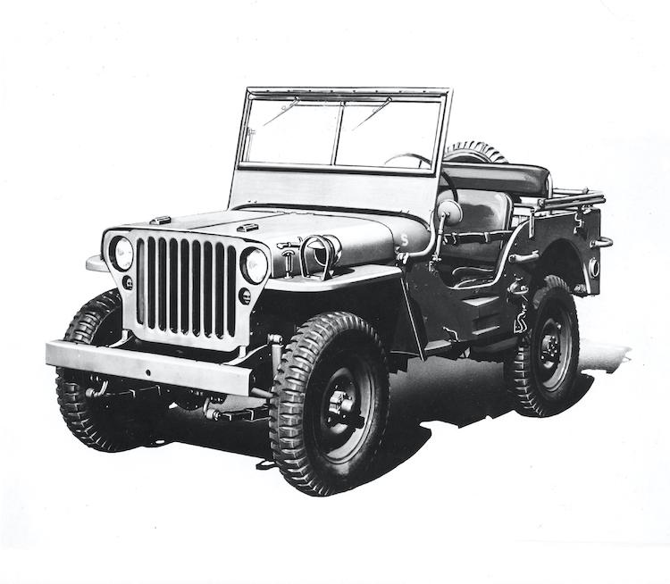 <p>ジープの初代モデルとなる軍用車のウィルスMB。米陸軍のために開発され、1941年〜1945年まで生産された。</p>