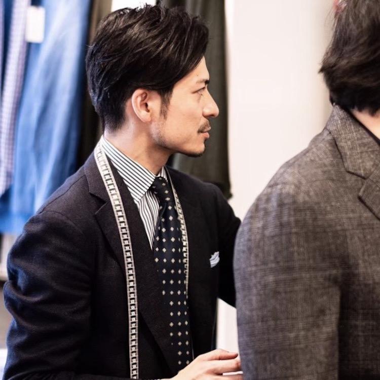 <p>昨年、北九州で行われたトランクショーでの一コマ。</p>