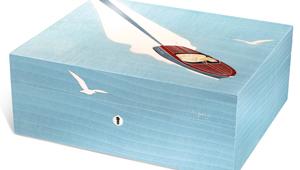 美しいフランス製の葉巻ケース「リヴィエラ・ヒュミドール」が完成!【ひと言ニュース】