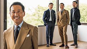 「スーツは制約から解放され、楽しく着られる時代」#いま何をどう着たい?