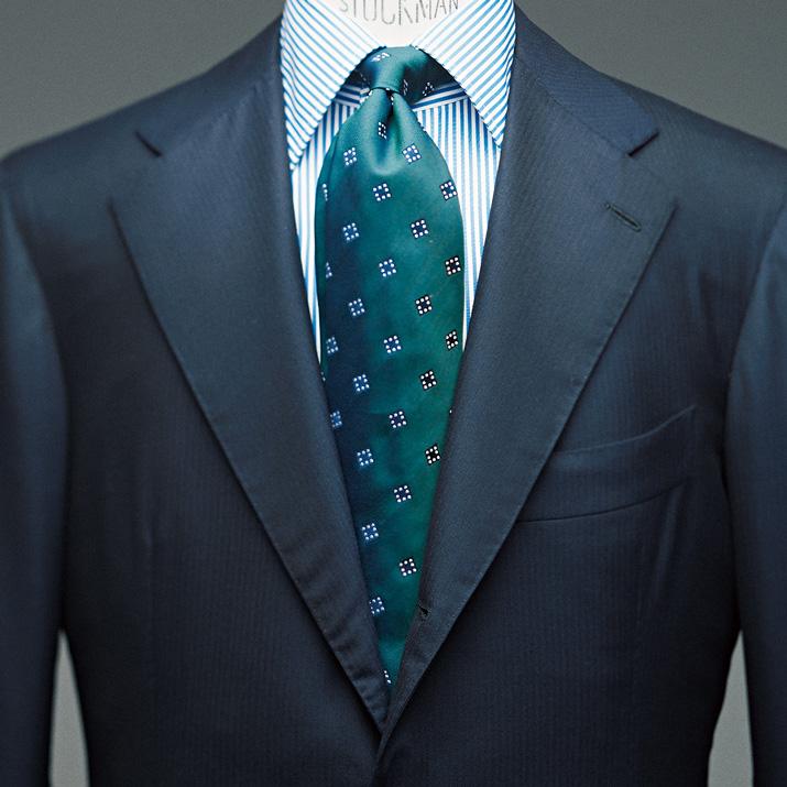 柄シャツ&ネクタイの合わせには、コツがあるんです【1分で出来る胸元お洒落】