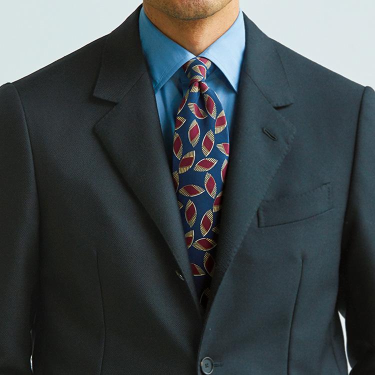 「柄ネクタイ」をアクセントに取り入れるには?【1分で出来る胸元お洒落】