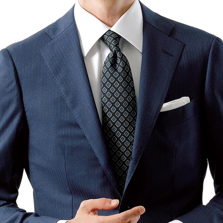 脱・若手の装いに、小紋柄ネクタイが効く!【1分で出来る胸元お洒落】
