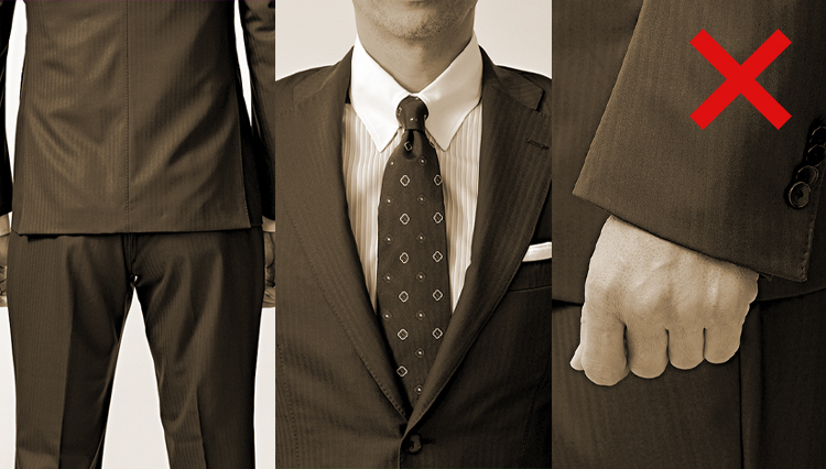 【必読】スーツのダメだし5連発。ここぞのスーツを見直そう!