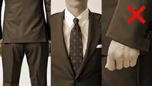 【必読】スーツのダメだし10連発。ここぞのスーツを見直そう!