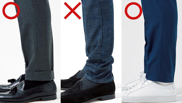 品よく着るには細部の選びが重要