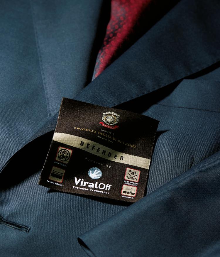 抗ウイルス生地 スーツ
