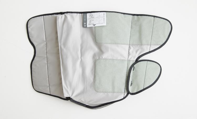 <p>人のマッサージ動作を再現する、ヒューマンハンドエアーバッグを内蔵。</p>