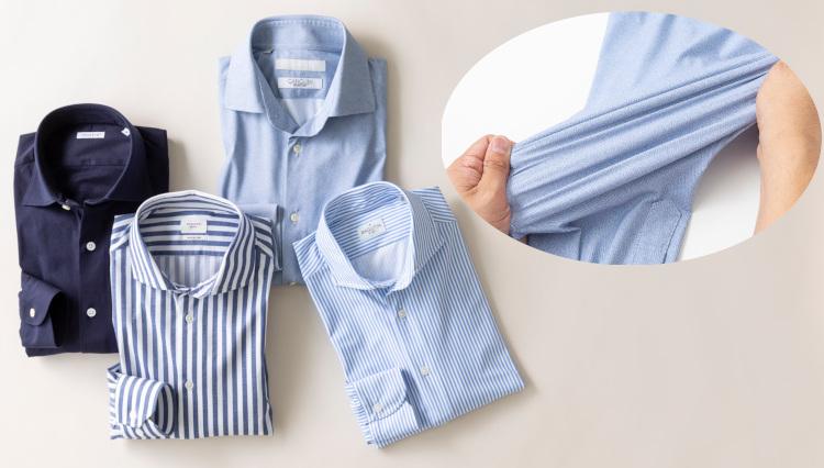 快適リモートワークに必携!「きちんと見えるジャージーシャツ」7選