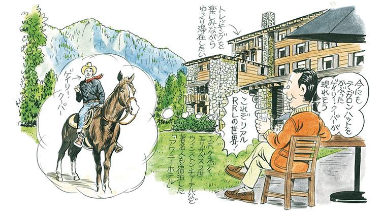 イラストレーター・綿谷寛さんの「ヨセミテ旅日記」