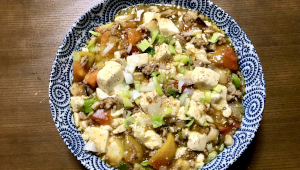 酸味×辛味がヤミツキに!「旨みたっぷり、大人のトマト麻婆豆腐」