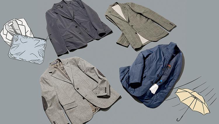 今欲しい!「スマートジャケット」 旅行もスマートになるパッカブル編
