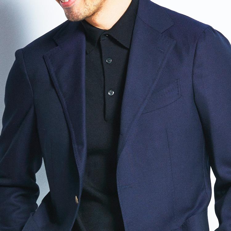 ノータイ通勤には「黒ポロシャツ」を活用すべし【1分で出来る胸元お洒落】
