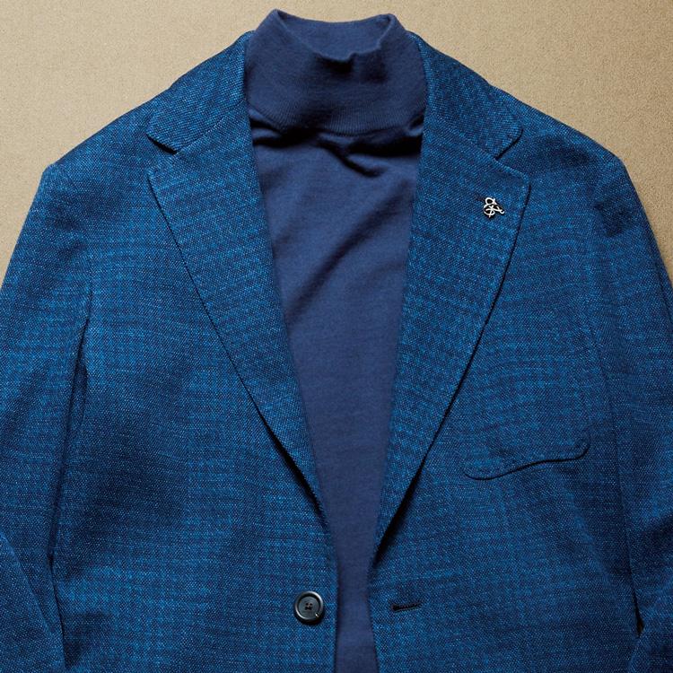 ジャケットの装いが垢抜ける「同色コーデ」とは?【1分で出来る胸元お洒落】