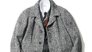 最旬のヘリンボーンコート、ビームス中村達也さんはどう着こなす?