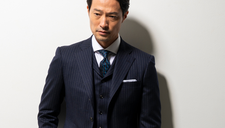 英国調を巧みに取り入れた「京都ビスポーク」のスーツは安心感がある
