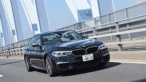 快適性とMのパフォーマンス、BMW M550iはイイトコドリのスポーツサルーン