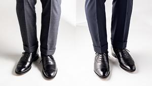 スーツの足元に映える「王道パンチ」ってどんな靴のこと?