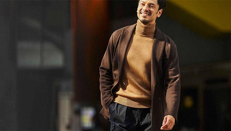 英気を養う日曜日。上品なジャケットカジュアルでひとり時間!
