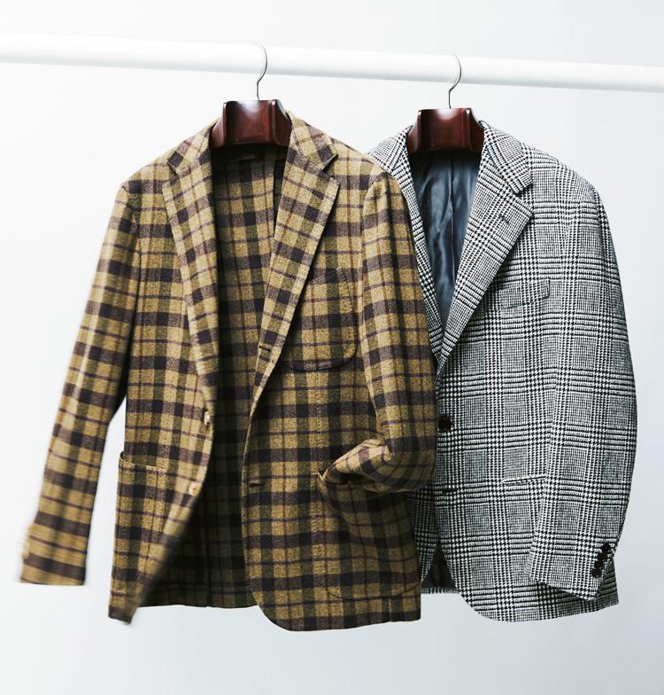 サルトリア カヴァリエッレのジャケットとサルトリア ヴェストゥルッチのジャケット