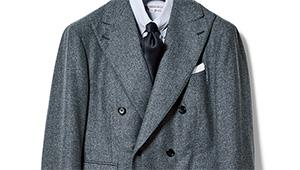 ライトグレーのスーツをコンサバに着こなす。ビームス中村達也さんの模範回答は?