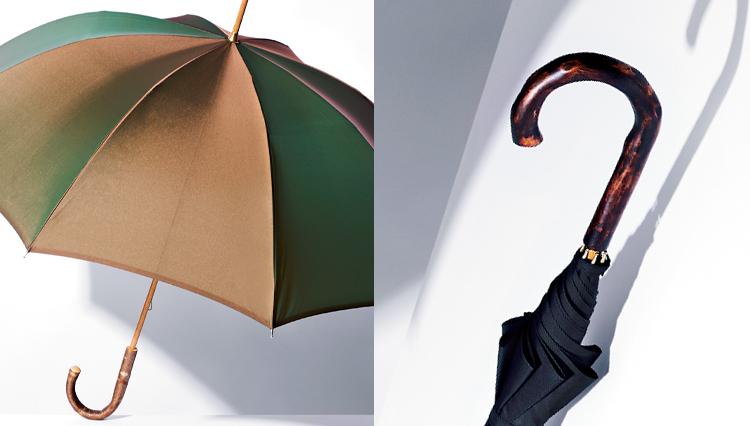 雨の日のお洒落!イタリアと日本のモノ作りで「クラシックな傘」が誕生