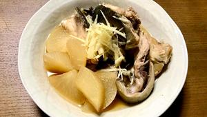 寒い日の日本酒熱燗に合う!「シンプル鰤大根」