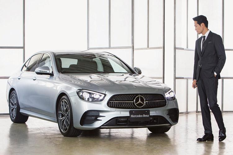 Mercedes-Benz E-Class E 200 SPORTS×俳優・前川泰之