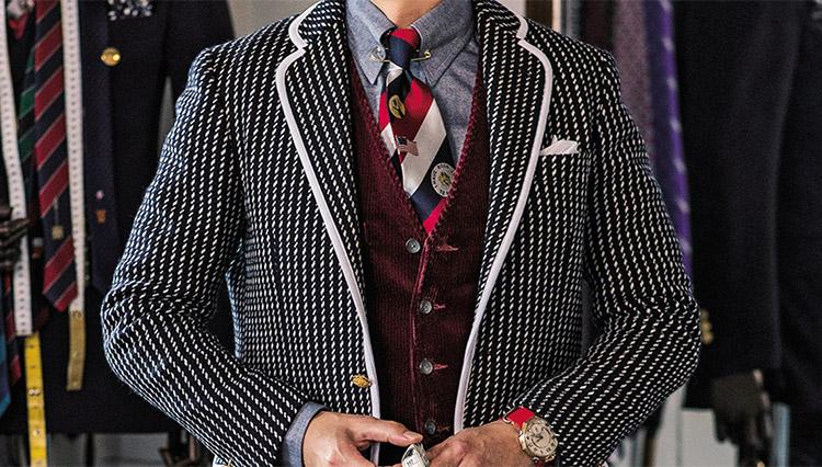 ネクタイをアクセサリーにして休日のお洒落を楽しむには?【齋藤服飾研究所・齋藤さんに聞いた】