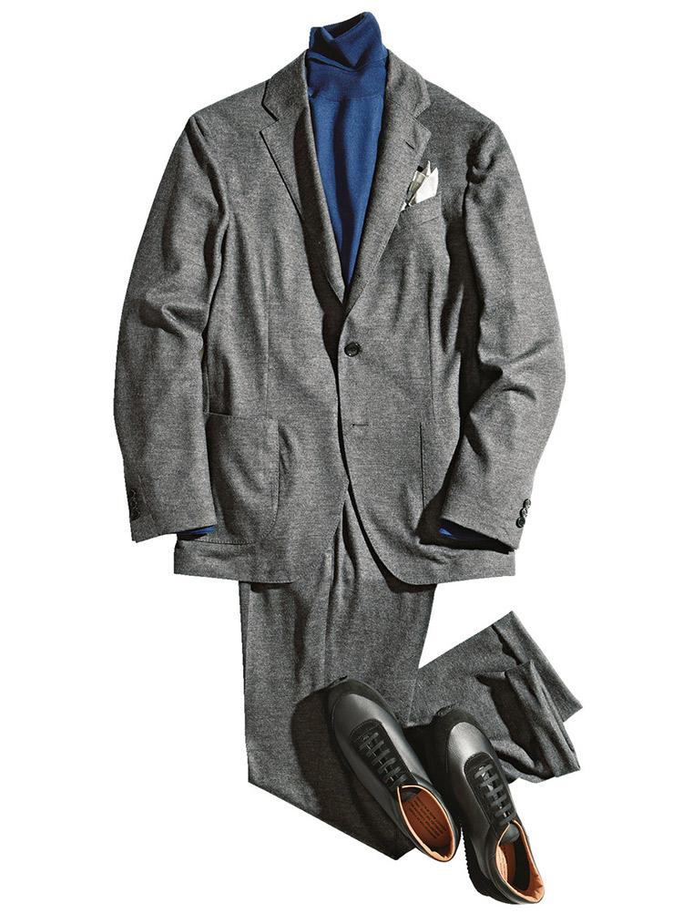 ラルディーニのウールジャージーパッカブルスーツ