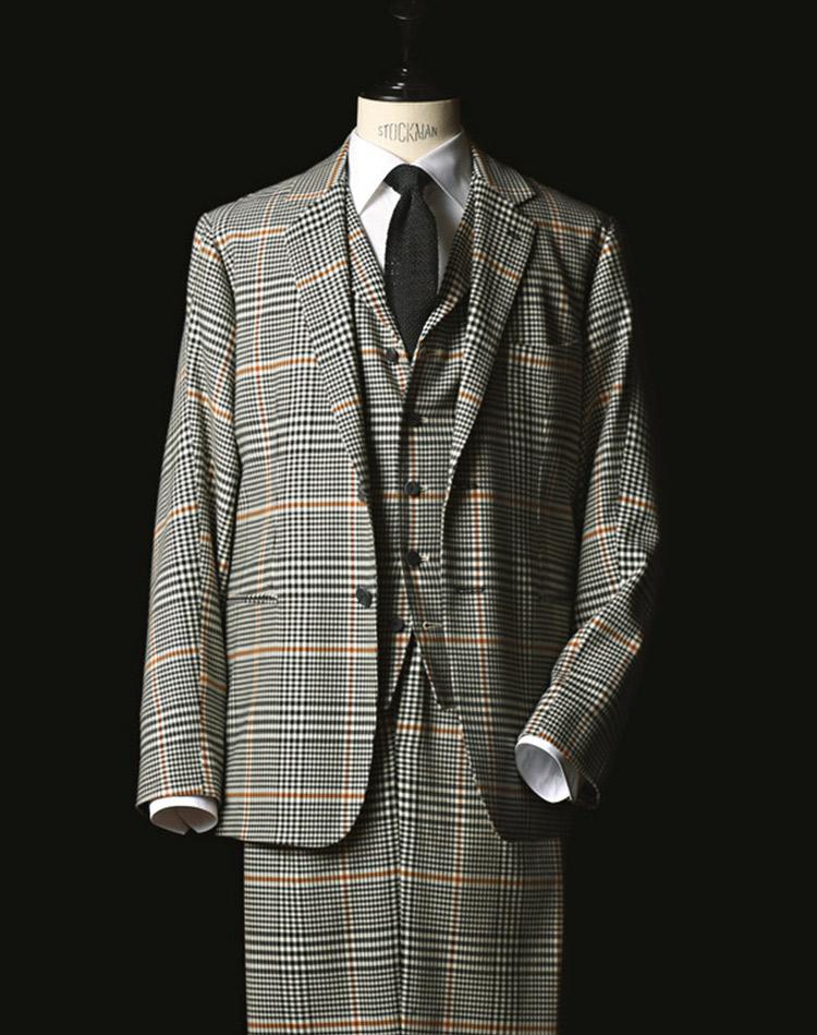 ル・ヴェルヌイユの3ピーススーツ